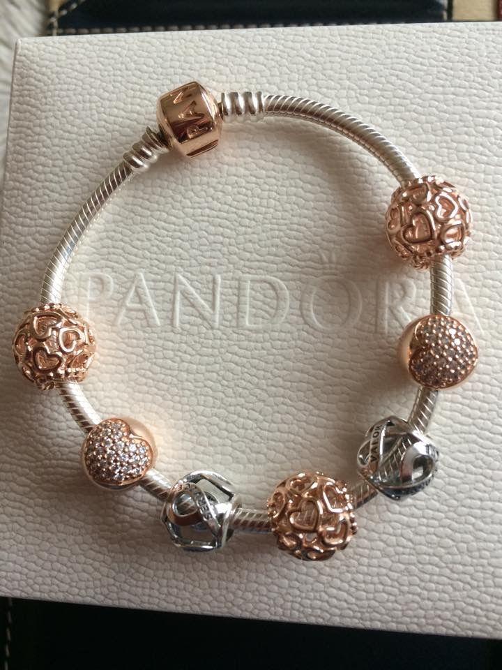 pandora armband rosegold