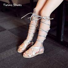 2016 new summer filles croix sangle sandales enfants haute gladiateurs sandales bébé de hauteur sandales pour enfants démarrage sandales chaussures noir(China (Mainland))