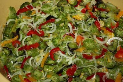 Reszteczka , to szybka i smaczna sałatka warzywna do słoika , na zimowe dni…
