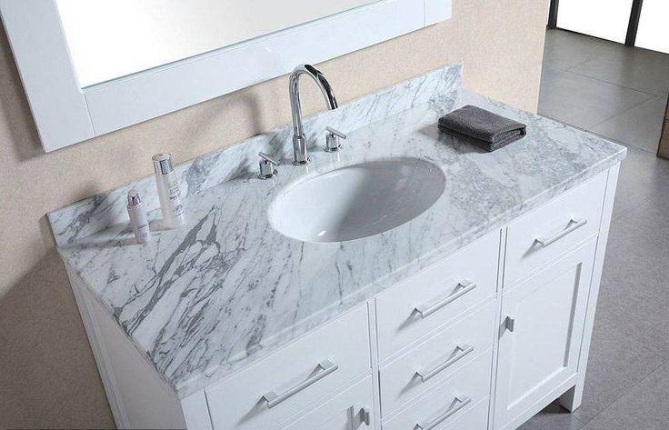 Restoration Hardware Bathroom Vanities Sink Countertop Vanity Designs And White Granite