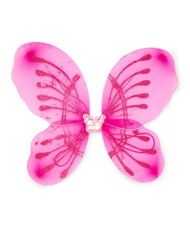 I think the girls would thoroughly enjoy these~ Hot Pink LED Light-Up Wings #zulilyfinds