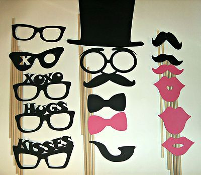 DIY You Glue Photo Prop Mustache Wedding Photo Prop | eBay