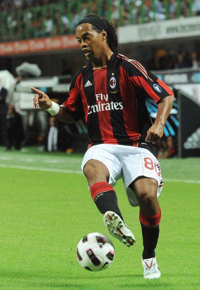 Ronaldinho - AC Milan v Lecce - Serie A