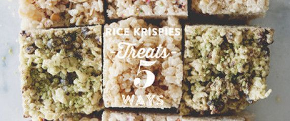 There's something so wonderfully wholesome about a Rice Krispie treat.