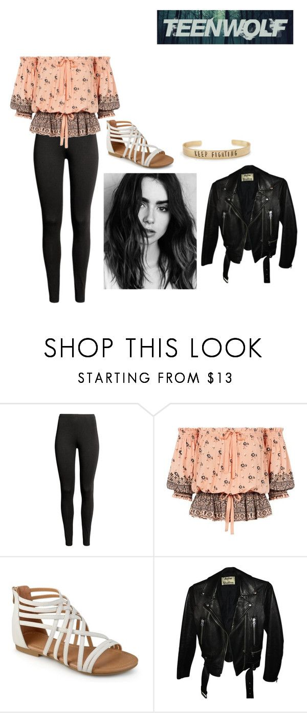 """""""Ciara Perez"""" by mrsmendes2 on Polyvore featuring Acne Studios, TeenWolf and TeenWolfOC"""