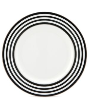 Obsessed with this striped salad plate!: Tables Sets, Stripes Kate, Dreams Houses, Kitchens Houses, Stripes Salad, Salad Plates, Spade Salad, Kate Spade
