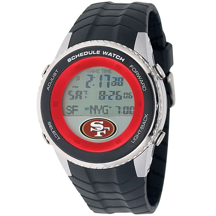 NFL San Francisco 49ers Men's Schedule Watch
