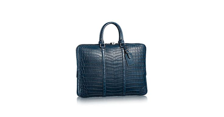Porte-Documents Voyage Crocodilien Mat - Sacs Homme | LOUIS VUITTON