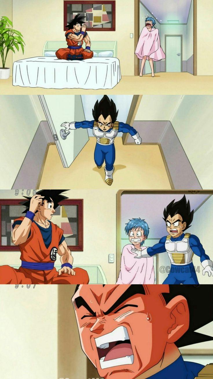 Dragon Ball Super: Bulma, Vegeta and Goku
