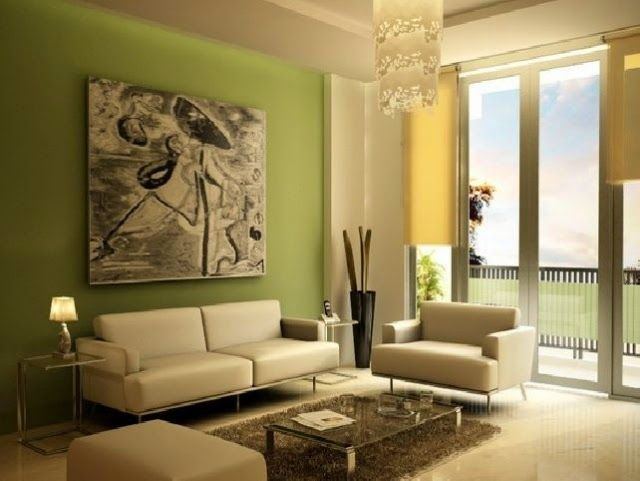 Cool wall painting ideas with pastel color combinations Paints - wohnzimmer gelb gestrichen