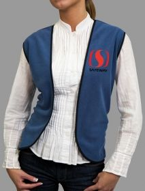 Promotional Products Ideas That Work: Fleece Vest. Made in Canada. Get yours at www.luscangroup.com