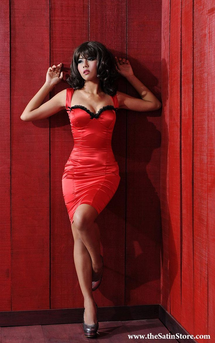 Satin Diva Dress | Satin | Pinterest