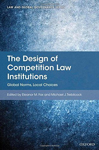 The Design of Competition Law Institutions: Global Norms, Local Choices (Law and Global Governance)