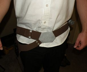Here is a cheap and easy way to make an awesome Han Solo Gun Holster. My fiance and I are going to be Leia and Han for Halloween and his costume woul...