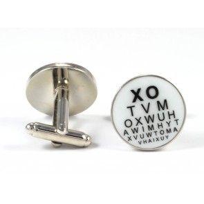 Gemelos para camisa Optico Tabla Optométrica 02