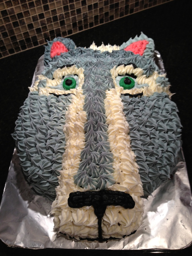 Wolf Cake Wolf Cakes Pinterest Wolves Wolf Cake And