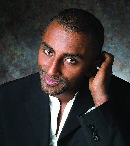"""Chef  Marcus Samuelsson - from top chef to , born in Ethiopia, adopted by Swedish parents t three years old. He is currently on tour promoting his book, """"Yes, Chef"""", a memoir, and is the Chef and Owner of the sizzling destination restaurant Red Rooster, and Ginny's Supper Club in Harlem."""