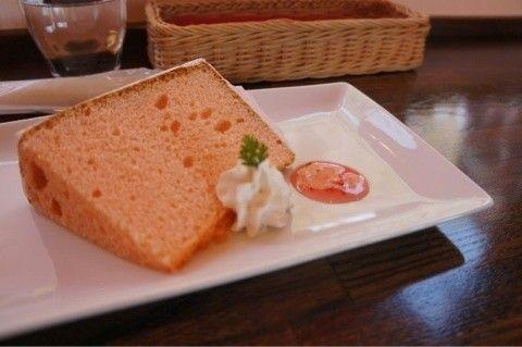 春香る野苺シフォンケーキ -野いちごのデザート