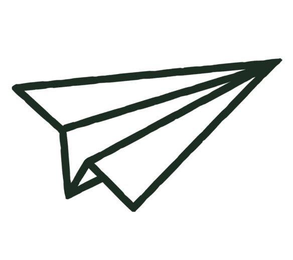 The Paper Plane - Tattoonie #t4aw #temporarytattoo #faketattoo #paperplane…