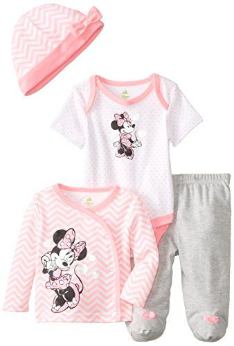 Disney Baby Baby-Girls Newborn Minnie Mouse 4 Piece Gift Set, Pink/Grey/Multi, 6-9 Months Disney http://www.amazon.com/dp/B00PVPTZ2I/ref=cm_sw_r_pi_dp_FUtAvb12V6M9V