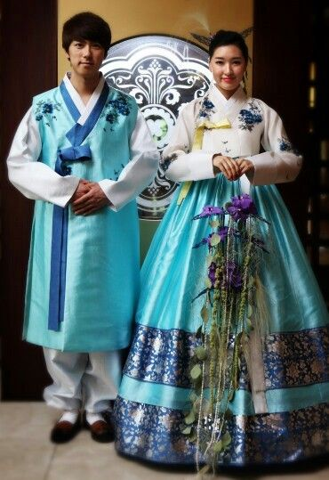 hanbok wedding fashion