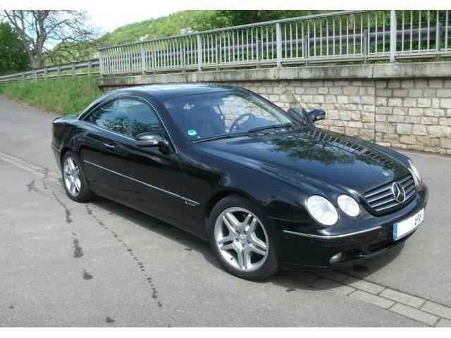 Mercedes-Benz CL 600 V12