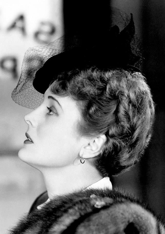 "Mary Astor as Brigid O'Shaughnessy in ""The Maltese Falcon"" (1941)"