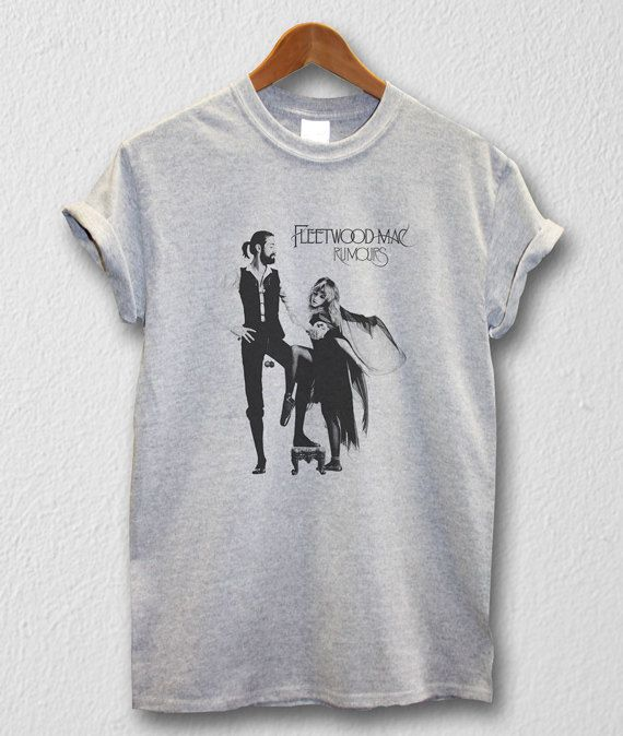 Fleetwood Mac shirt UK/US Rock T-shirt Unisex Men Women Tshirts Size S/M/L/XL/2XL