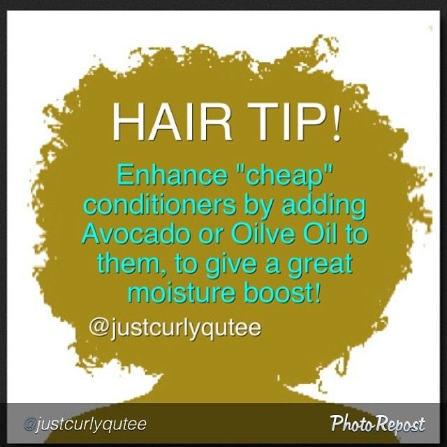 @Justcurlyqutee Natural Hair Tip