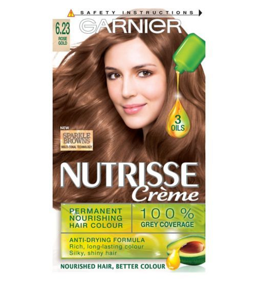 Garnier Nutrisse Sparkle Brown 6 23 Rose Gold Hair