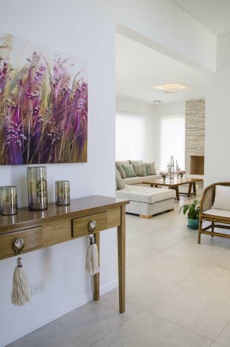 hall: Livings de estilo Moderno por Parrado Arquitectura