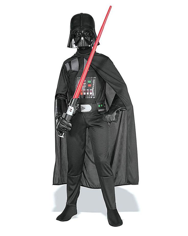 Child Star Wars Darth Vader Costume: Child Star Wars Darth Vader Costume Star Wars Darth Vader costume Contains printed jumpsuit and belt,…