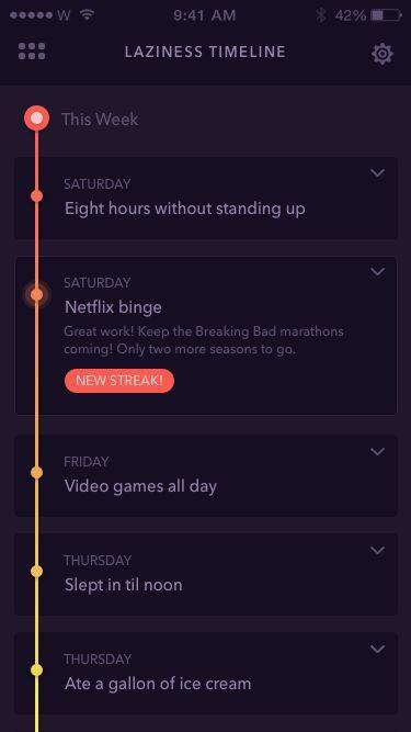 timeline ui - Google Search