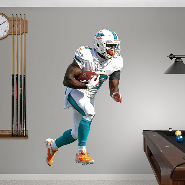 Fathead Wall Graphic Miami Dolphins Decal Sports