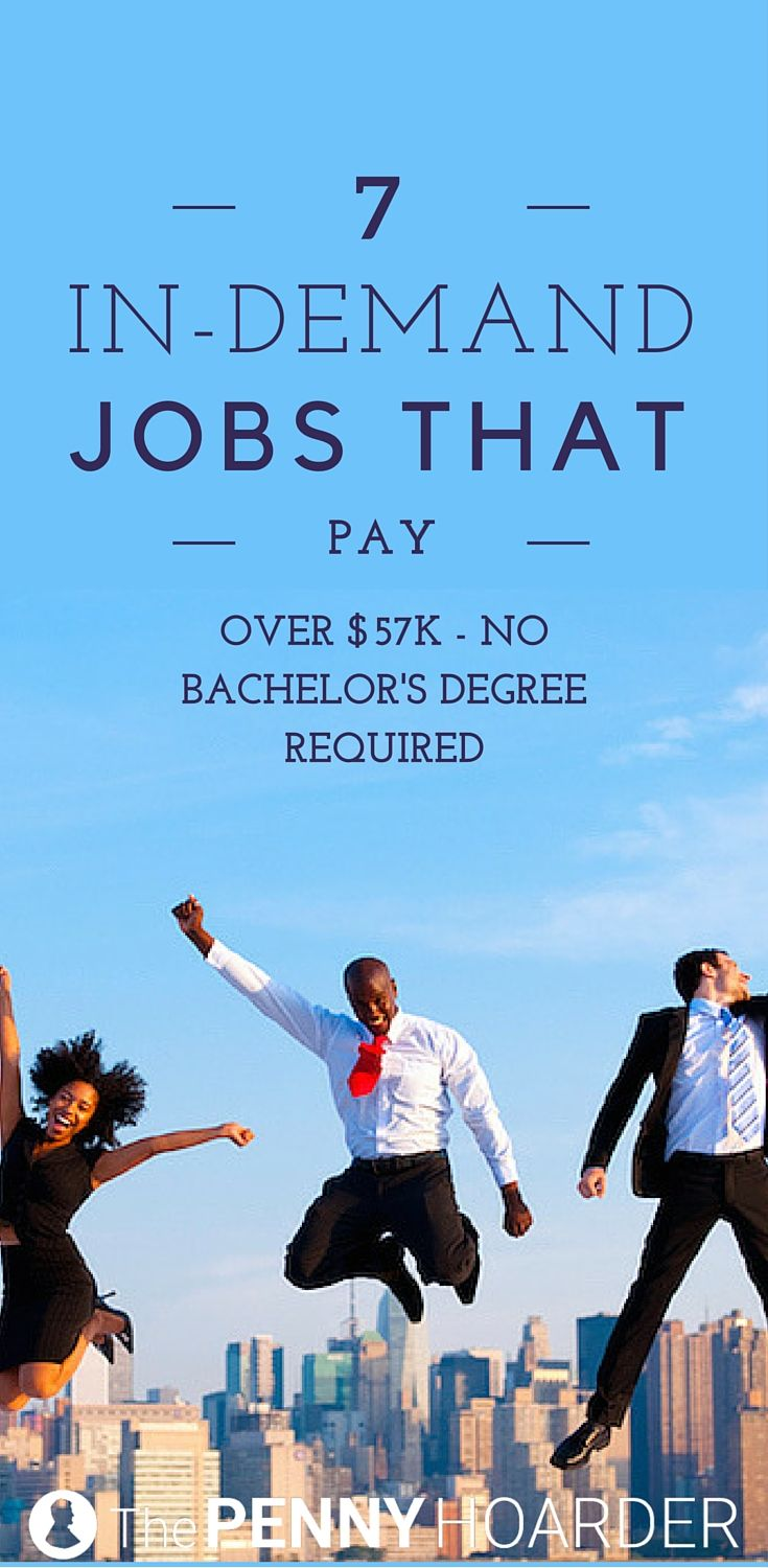 Yes, you can earn a good living without going to school forever. These seven high-paying jobs are a great place to start -- and don't require a four-year degree. @thepennyhoarder http://www.thepennyhoarder.com/high-paying-jobs-without-a-bachelors-degree/