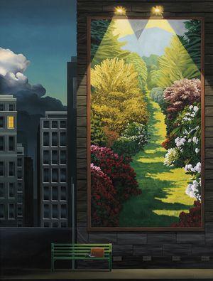 Ross Jones the painter - Different Paths