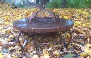 Костровой стол (уличный очаг, садовый камин мангал) круглый - предлагаю. Цена 2 990 грн. Украина. Фото