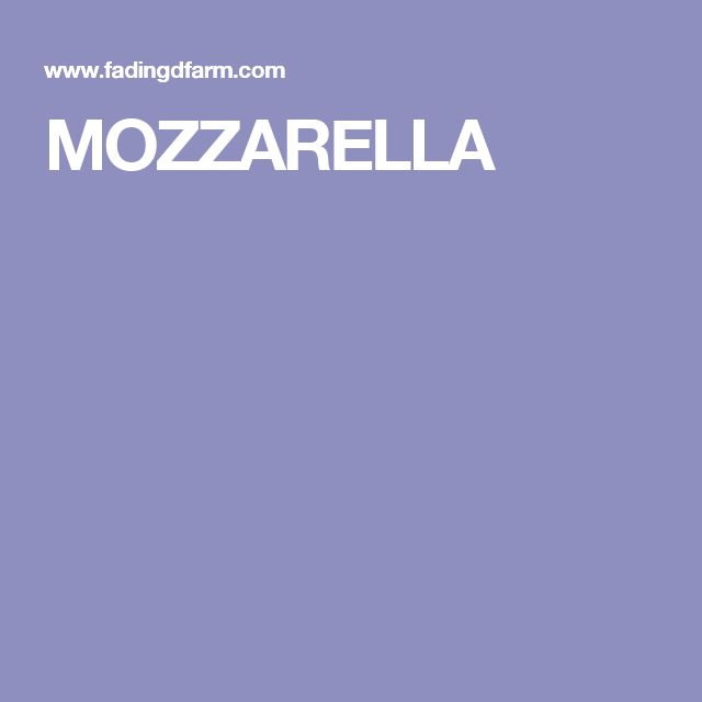 MOZZARELLA.....this one does sound safe.  He goes to Greensboro Farmers market on saturdays but is will to ship the cheese as well...just sent email requesting shipment 1/27/17
