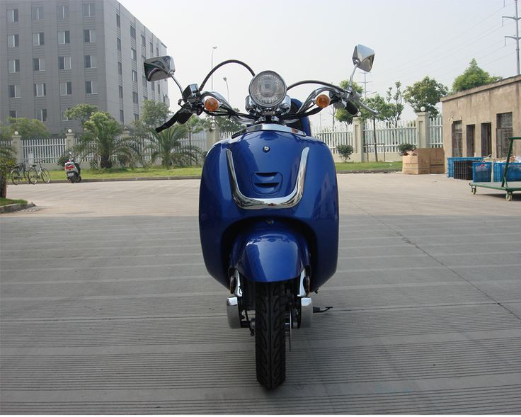 49cc scooters, 50cc scooters, 150cc scooters to 400cc Gas Scooters for sale , Street Legal Mopeds, Motorcycles, Go Karts, 4 Wheelers, Utility Vehicles, - Some Assembly Required - CMS Classic 50cc Gas Scooter Moped for Sale - FREE SHIPPING ( MP 9005 )