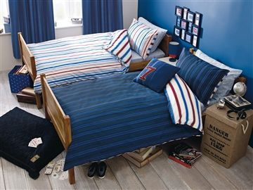 Buy 2 Pack Varsity Reversible Bed Set from the Next UK online shop