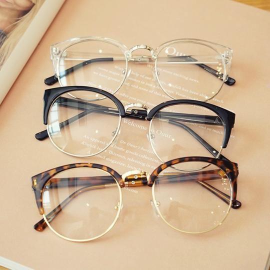 Cheap Transparent Spectacle Frame Anti-fatigue For Cat Eyes Men's Glasses Women Oculos De Grau Masculino Retro Vintage Eyewear
