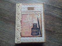 Papiernictvo - Vintage diár - denný - ATRAMENT - 7454750_