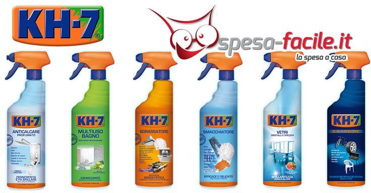 La linea di prodotti kh 7 per una pulizia della casa pi - Prodotti ecologici per la pulizia della casa ...