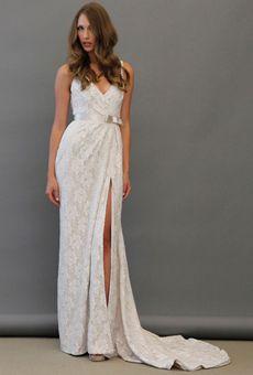 Brides Magazine: Spring 2013 Wedding Dress Trends-Blush