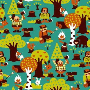 Lumberjack (organic tricot)