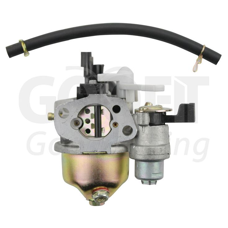 GOOFIT 19mm Carburetor Carb for Honda Gx160 5.5hp Gx200 Engine 16100-zh8-w61 w/ Choke Lever