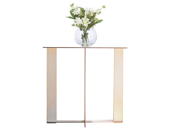 Big Cinq wooden console consolle table by lexioshop on Etsy
