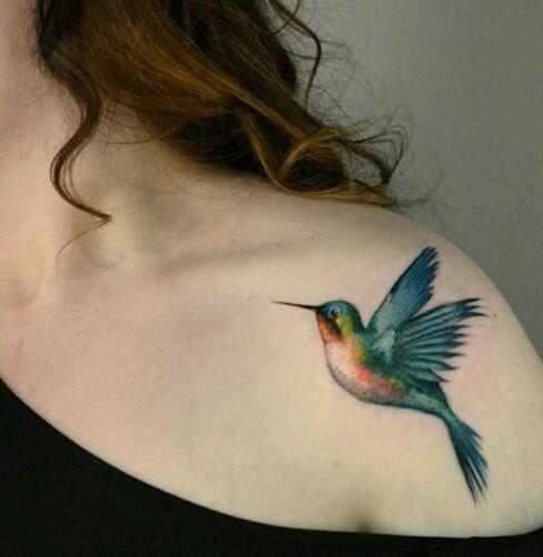 Quelle est la signification du tatouage de colibri