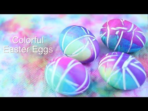 DIY: Easy Colorful Easter Eggs