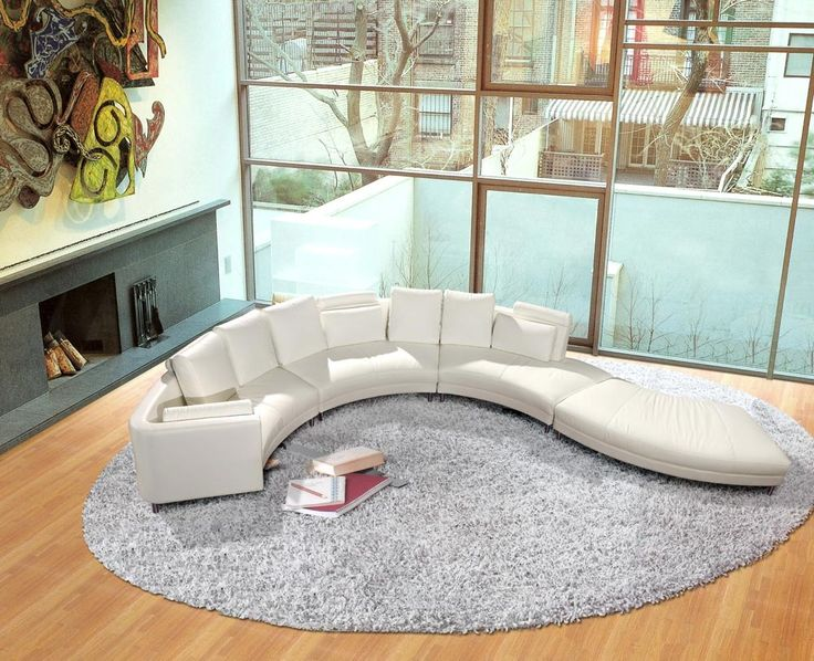 round sofa - Google Search